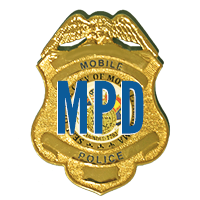 Mobile Police Department Shield Logo