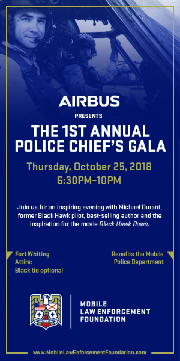 Police Chief's Gala Ad