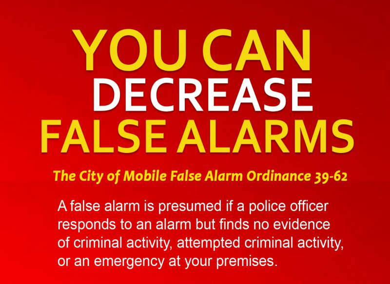 You Can Decrease False Alarms