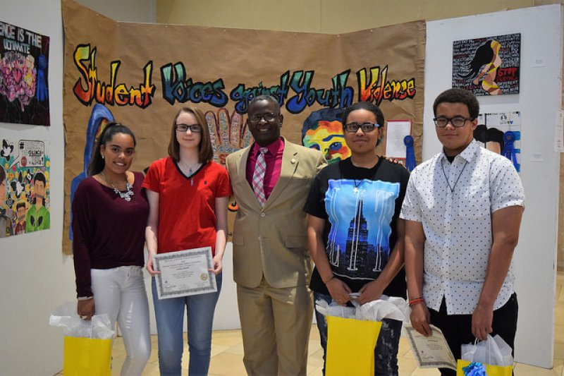 Student Voices Against Youth Violence Art Contest