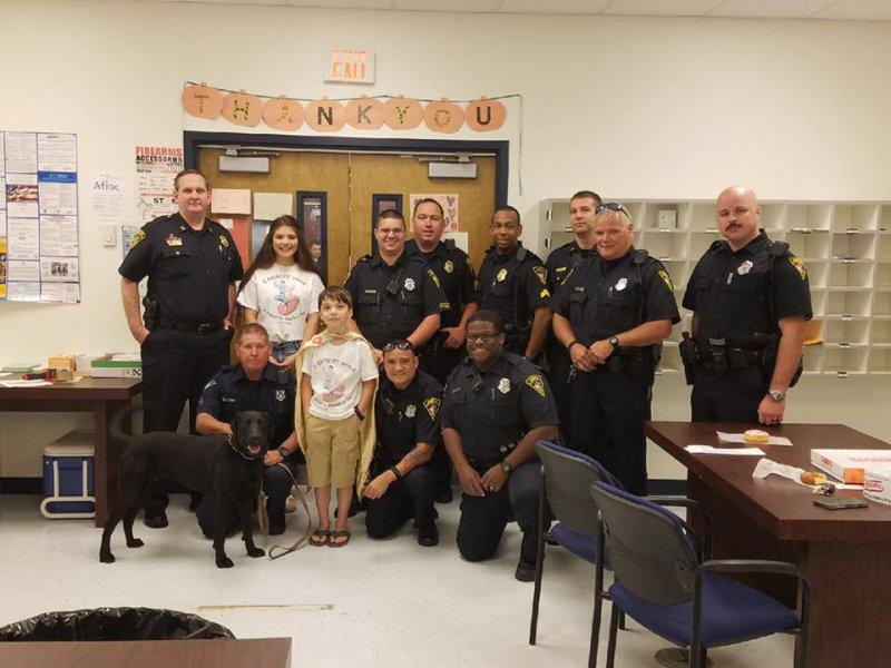 Tyler the Donut Boy Visits Precinct 4