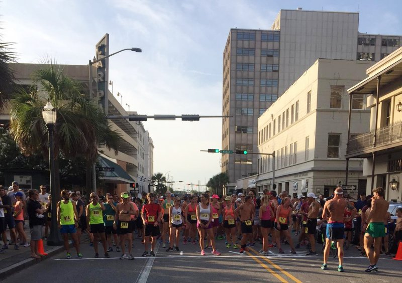 Runners Celebrated National Night Out 2017 at Bienville Square