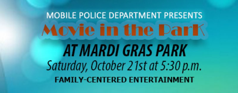 Movie in the Park at Mardi Gras Park