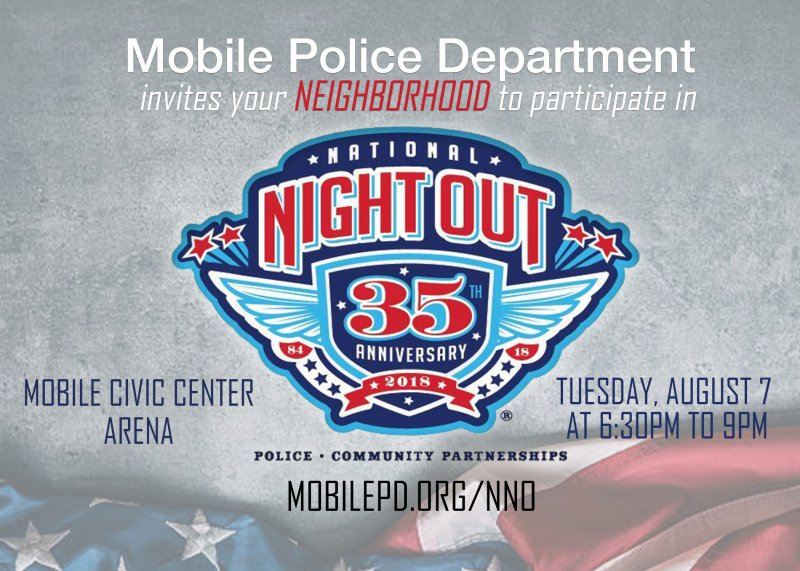 National Night Out Set for Aug. 7