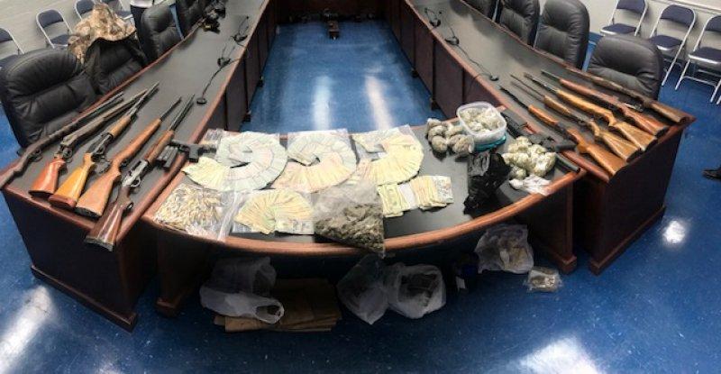 MPD Seizes $73K in Cash, Guns and Drugs in Operation Westside