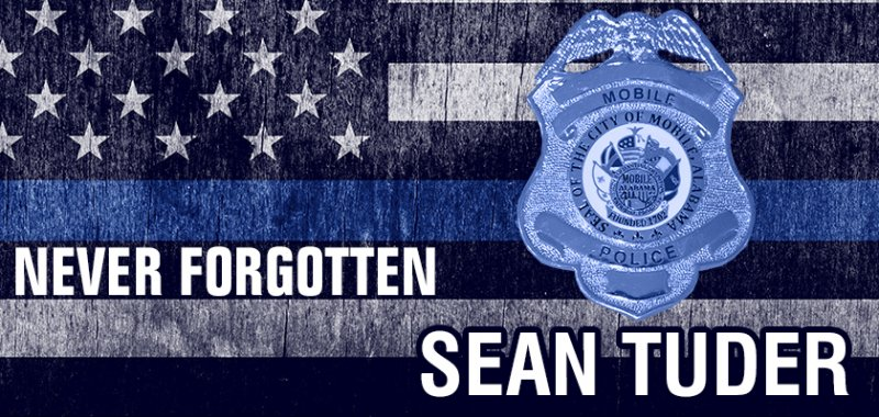 Funeral Procession Route Announced for Fallen Mobile Police Officer Sean Tuder