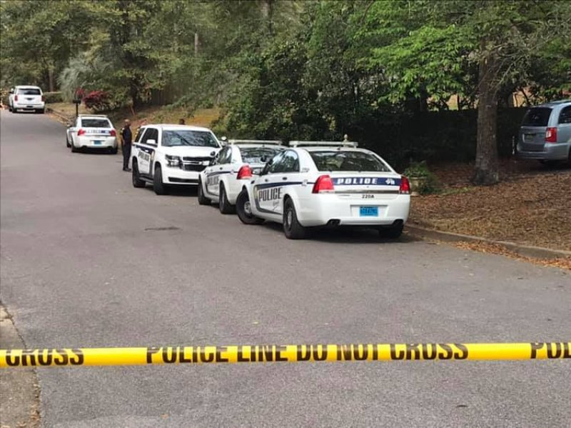 Investigation on the 5000 Block of Karlan Drive
