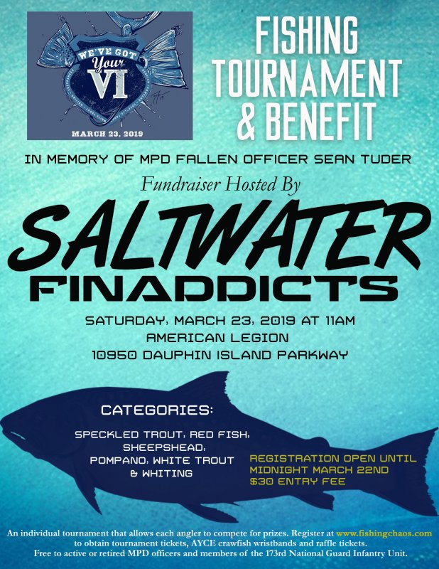 'We've Got Your VI' Fishing Tournament Benefits Tuder Family