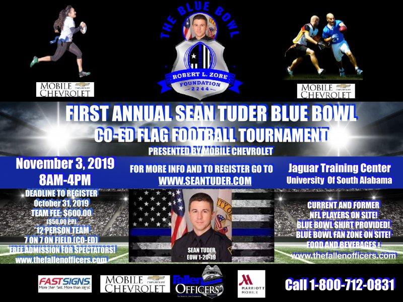 The Sean Tuder Blue Bowl