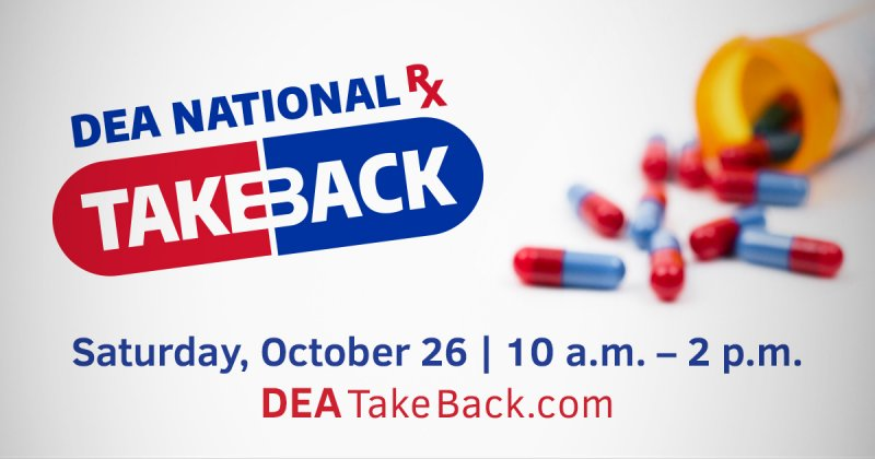 Drug Take Back Day for Unwanted Prescription Drugs