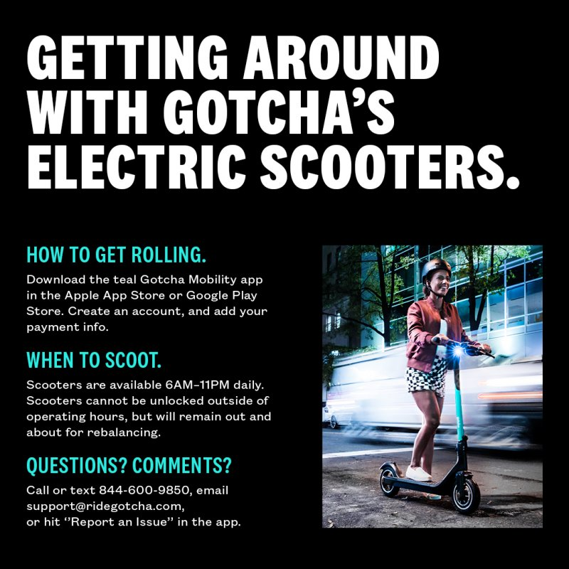 Rules of the Road for Gotcha Scooters