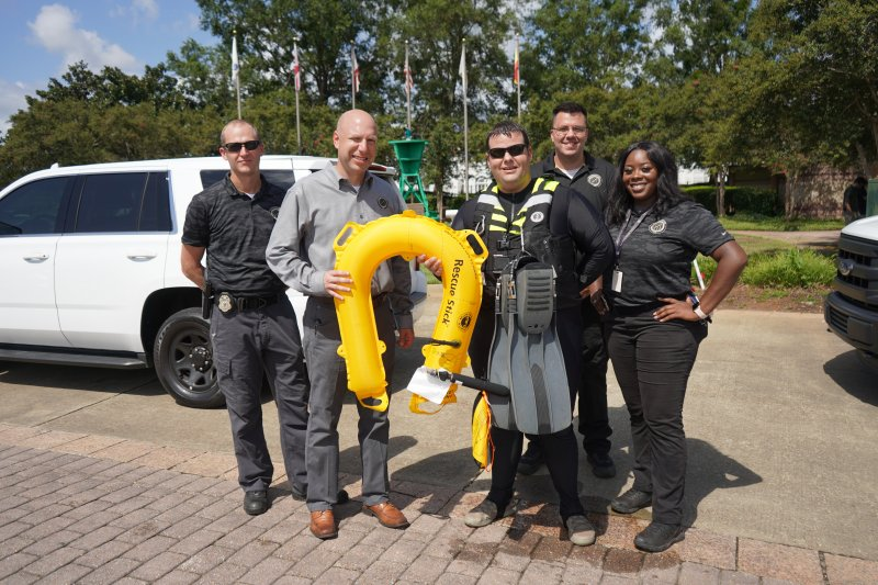 Commander Kevin Levy and Cyber Team Design New Aquatic Rescue Drone