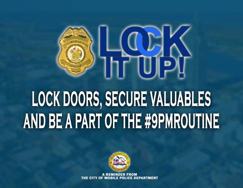 #9PMroutine  Lock It Up Social Media Campaign