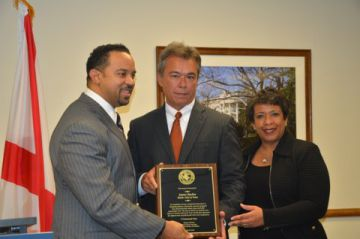 U.S. Attorney General Recognizes Chief Barber