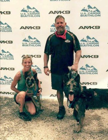 MPD K9 Officer Placed Second in U.S. Canine Biathlon