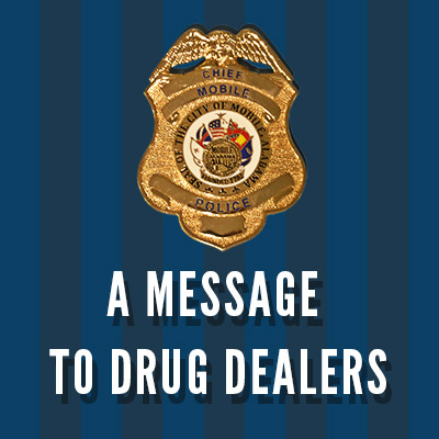 A message to Drug Dealers