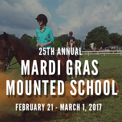 MPD Mardi Gras Mounted Training